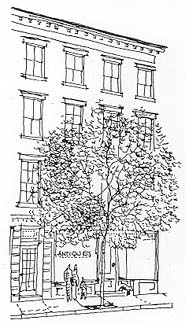 A Greenwich Village Habitue - New York, New York